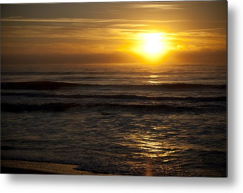 Sunrise Metal Print featuring the photograph Ocean Sunrise by Christina Durity