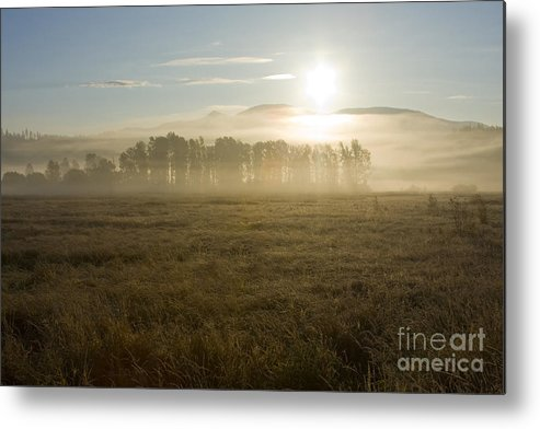 Atmosphere Metal Print featuring the photograph October Atmosphere by Idaho Scenic Images Linda Lantzy