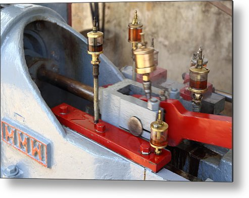 Steam Metal Print featuring the photograph Oilers Galore by Pat Williams