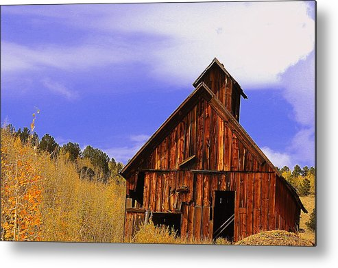 Old Barn Metal Print featuring the photograph Old Barn by Patrick Short