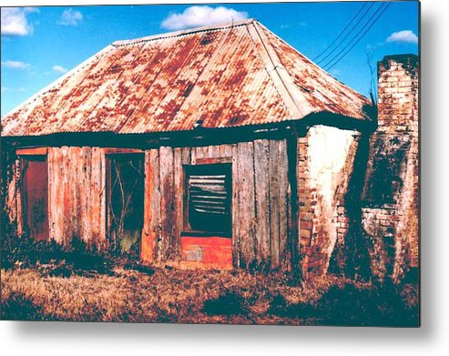 Australia Metal Print featuring the photograph Old Farm House by Gary Wonning
