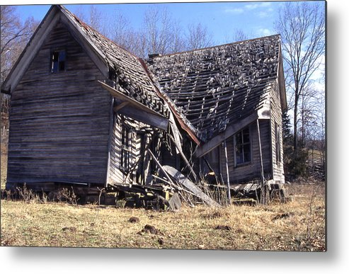 Metal Print featuring the photograph Old House B by Curtis J Neeley Jr