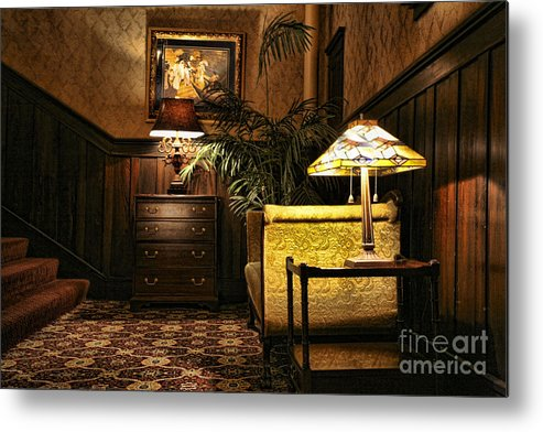 Architectural Metal Print featuring the photograph Old Is Good by Chuck Kuhn