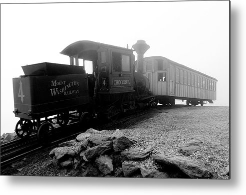 Train Metal Print featuring the photograph Old Locomotive by Sebastian Musial