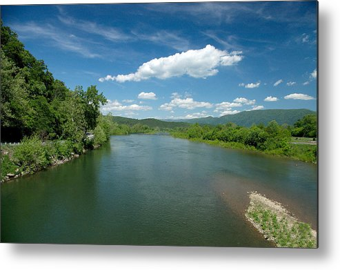 Landscape Metal Print featuring the photograph Old Man River by Steve Kenney