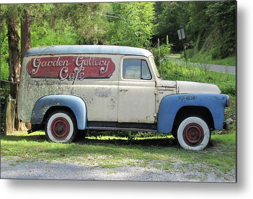 Panel Truck Metal Print featuring the photograph Old Timer by Frank Castillo