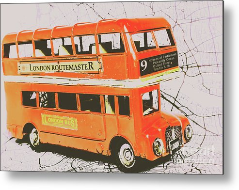 Transport Metal Print featuring the photograph Old United Kingdom Travel Scene by Jorgo Photography - Wall Art Gallery