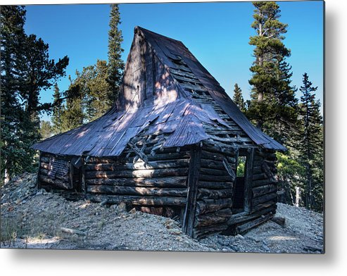Rustic Metal Print featuring the photograph Old Witch Hat Gold Mine by James BO Insogna
