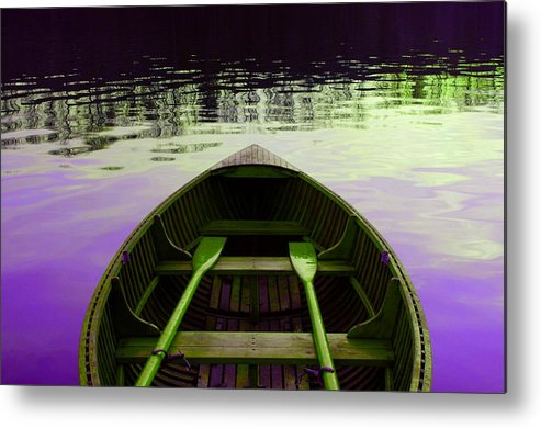 Lake Metal Print featuring the photograph On The Lake by Ca Photography