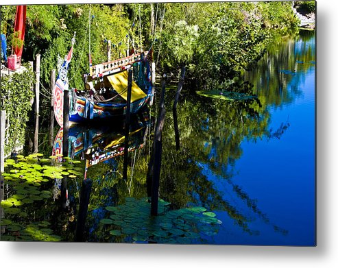 Boat Metal Print featuring the photograph On The Water by Sarita Rampersad