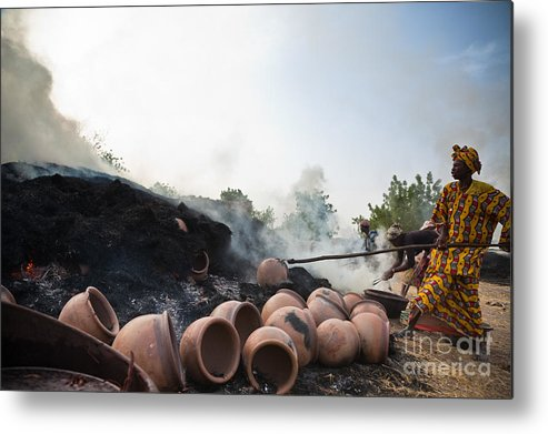 Mali Metal Print featuring the photograph Out Of The Fire II by Irene Abdou