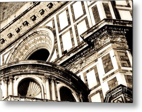 Architecture Metal Print featuring the photograph Overload by Emilio Lovisa