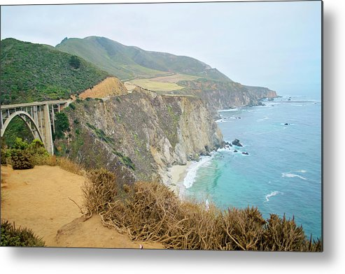 Pacific Coast Highway Metal Print featuring the photograph Pacific Coast Highway Dreams by Micah Williams