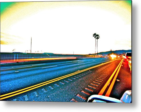 Pch Metal Print featuring the photograph Pacific Coast Highway by Jeremy Stewart
