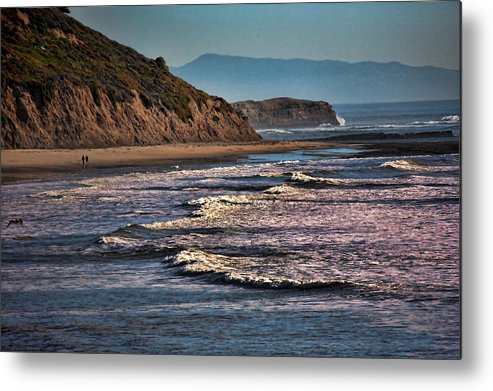 California Metal Print featuring the photograph Pacific Ocean I by Chuck Kuhn