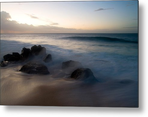Ocean Metal Print featuring the photograph Pacific Ocean Power - Hawaii by Brad Rickerby