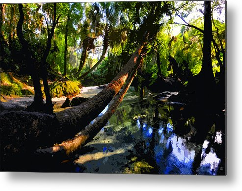 Paradise Metal Print featuring the painting Paradise Found by David Lee Thompson
