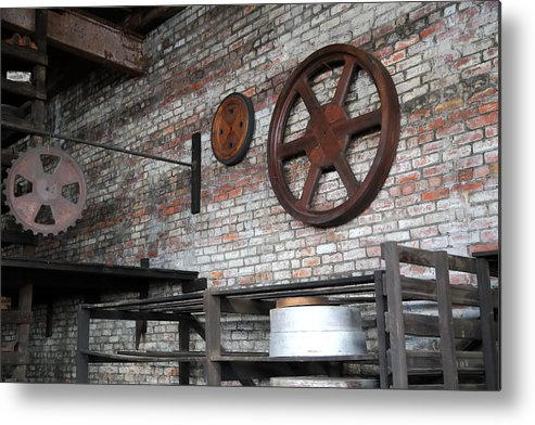 Forge Patterns Metal Print featuring the photograph Pattern Shop by Pat Williams