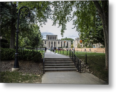 Penn State Metal Print featuring the photograph Penn State Library by John McGraw