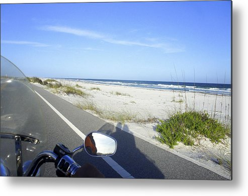 Pensacola Beach Metal Print featuring the photograph Pensacola Ride by Laurie Perry