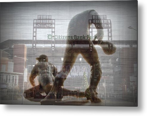 Philadelphia Metal Print featuring the photograph Philadelphia Phillies - Citizens Bank Park by Bill Cannon