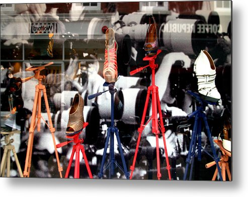 Jez C Self Metal Print featuring the photograph Photoshoes by Jez C Self