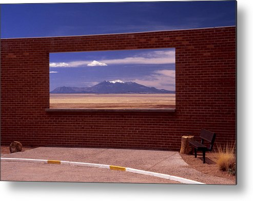 Window Metal Print featuring the photograph Picture Window by Karen Ulvestad