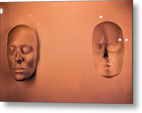 Jez C Self Metal Print featuring the photograph Pink Faders by Jez C Self