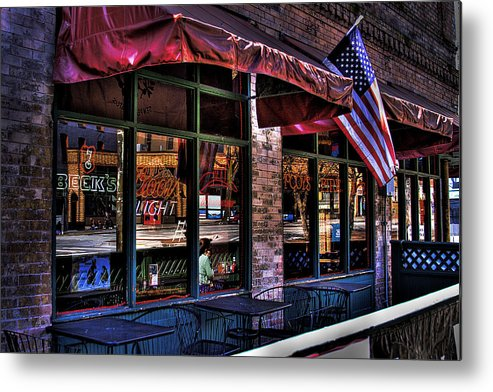 Pioneer Square Metal Print featuring the photograph Pioneer Square Tavern by David Patterson