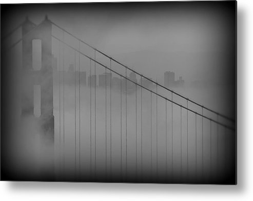 San Francisco Metal Print featuring the photograph Play Misty For Me by Edward Kreis