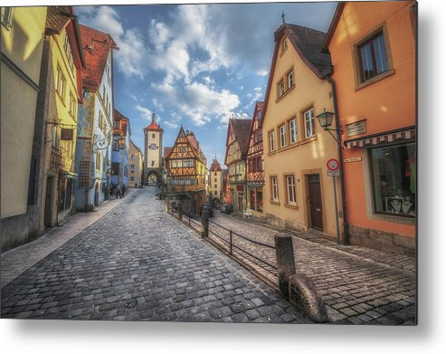 Bavaria Metal Print featuring the photograph Plonlein by Chris Fletcher