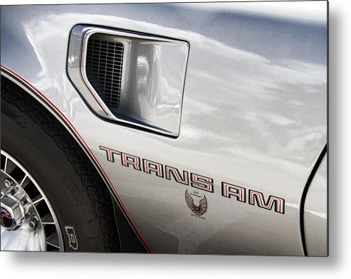 Pontiac Metal Print featuring the photograph Pontiac Trans Am Limited Edition by Nick Gray