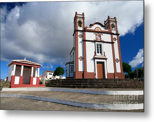 Architecture Metal Print featuring the photograph Portuguese Church by Gaspar Avila
