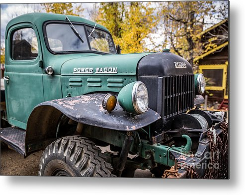 Power Wagon Metal Print featuring the photograph Power Wagon by Lynn Sprowl