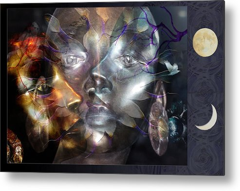 Humanity Metal Print featuring the photograph Psyche by Ed Hall