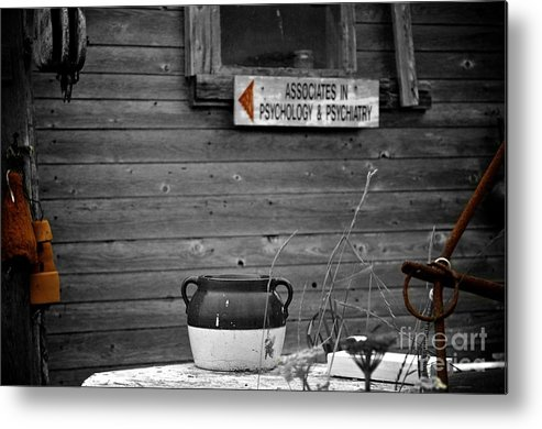 Psychology Metal Print featuring the photograph Psychology by Elizabeth Lawrence