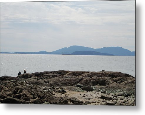 Islands Metal Print featuring the photograph Puget Sound Islands by J D Banks