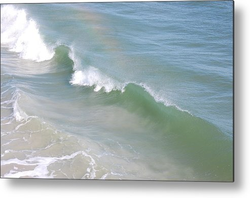 Rainbow Metal Print featuring the photograph Rainbow Over The Atlantic by Nikki Taylor