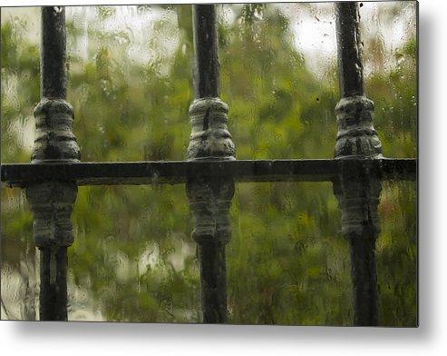 Rain Metal Print featuring the photograph Rainy Afternoon by Georgina Chapa