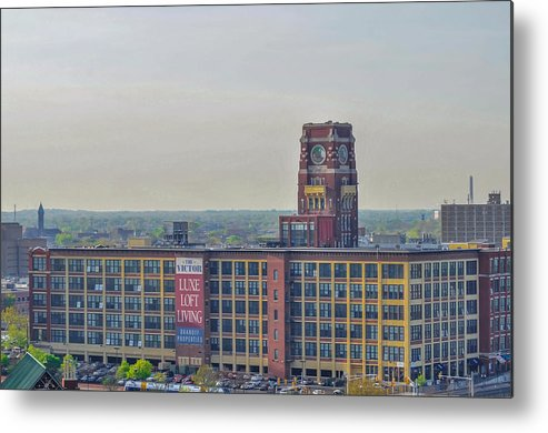 Rca Metal Print featuring the photograph Rca Victor - Camden New Jersey by Bill Cannon