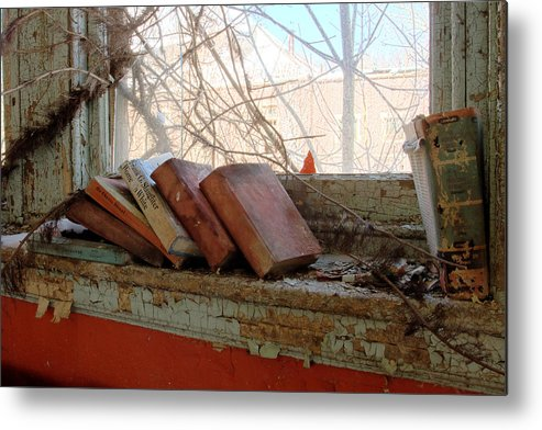 Abandonment Metal Print featuring the photograph Read by Kevin Brett