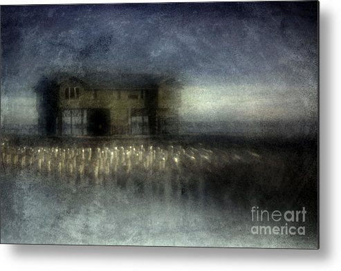 Blue Metal Print featuring the photograph Recurrent Dream by Andrew Paranavitana