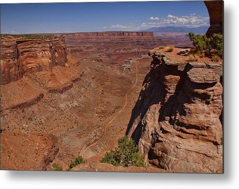 Canyonlands Metal Print featuring the photograph Red Rock Vista by Nick Roberts
