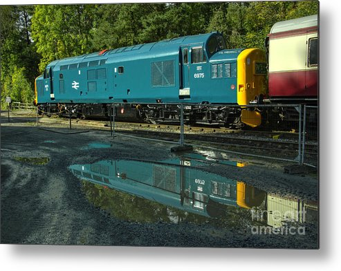 Class Metal Print featuring the photograph Reflected 37 by Rob Hawkins