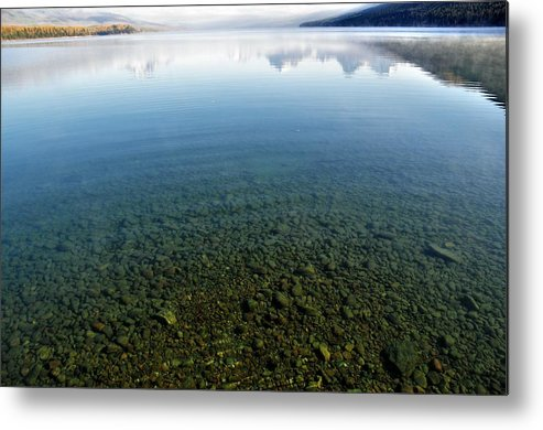 Landscapes Metal Print featuring the photograph Reflections by Mike Helland