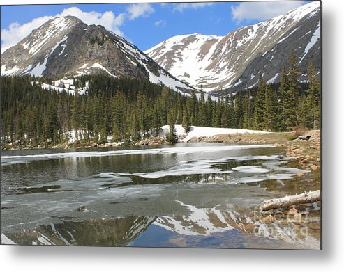 Nature Metal Print featuring the photograph Reflections On Chinns Lake 5 by Tonya Hance