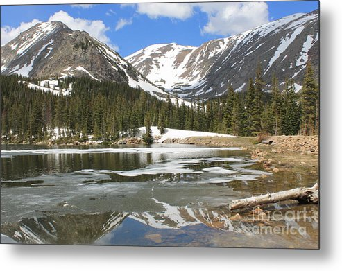 Nature Metal Print featuring the photograph Reflections On Chinns Lake 6 by Tonya Hance