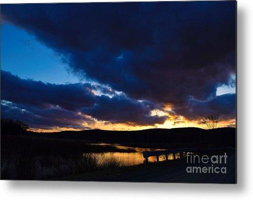 Sunset Metal Print featuring the photograph Regal Sundown by Julie Street