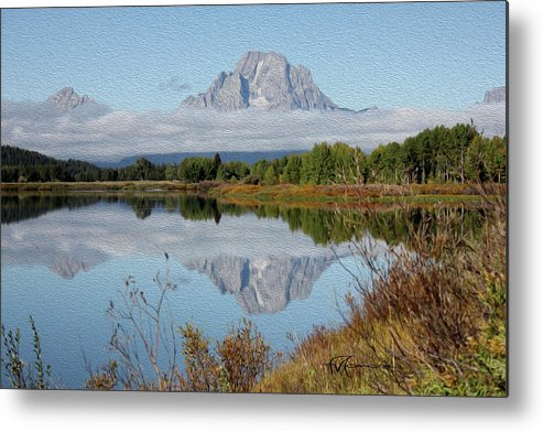 Outdoor Images Metal Print featuring the photograph Regel Reflection by Felipe Gomez
