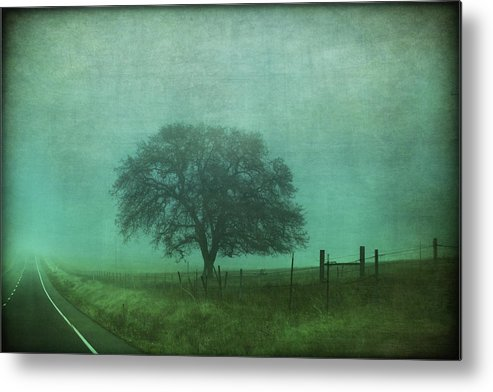 Road Metal Print featuring the photograph Resolution by Laurie Search